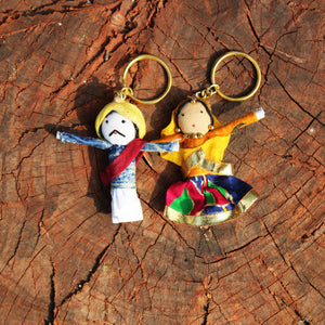 Puppet Keychain - Set Of Two