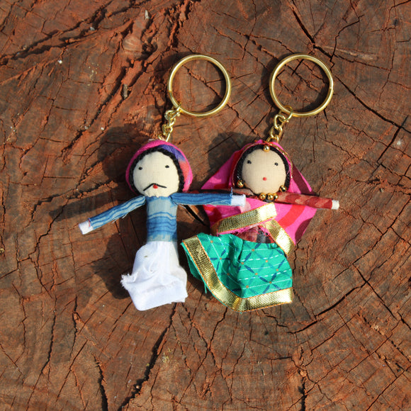 Puppet Keychains (Set Of Two)