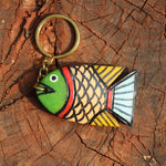 Wooden Keychain - Fish