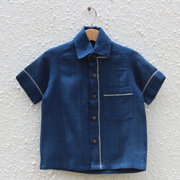 Indigo Skies Kala Cotton Shirt