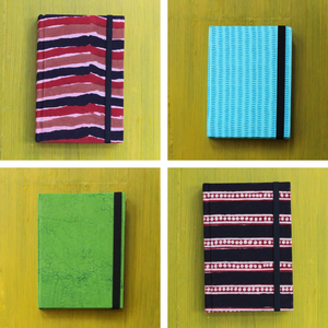 Blockprinted Notebooks - Set Of Two