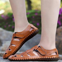 Load image into Gallery viewer, Cow Leather Sandal