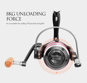 All Metal Fishing Reel