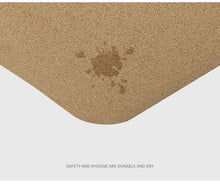 Load image into Gallery viewer, Natural Cork Yoga Mat