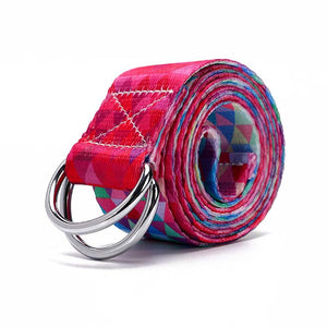 Multi-Color Yoga Straps