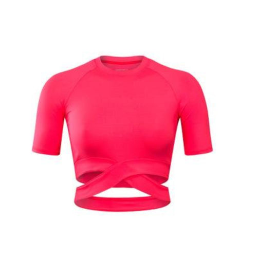 Crop Top Running Shirt