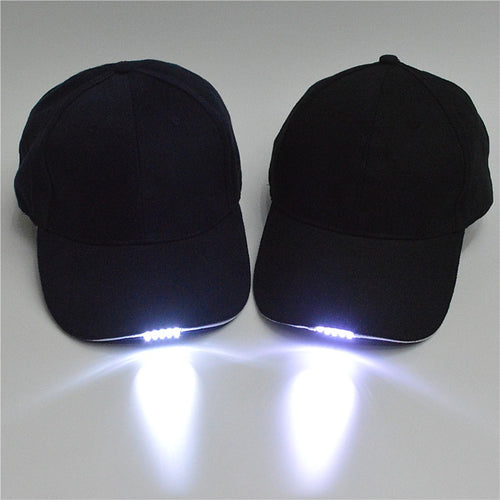 Flashlight Baseball Cap