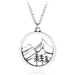 Vintage Mountain Necklace