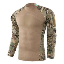 Load image into Gallery viewer, Long Sleeve Camouflage Shirt