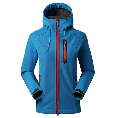 Windproof Soft Shell Fleece Jacket
