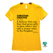 Load image into Gallery viewer, Christian Creative Tee