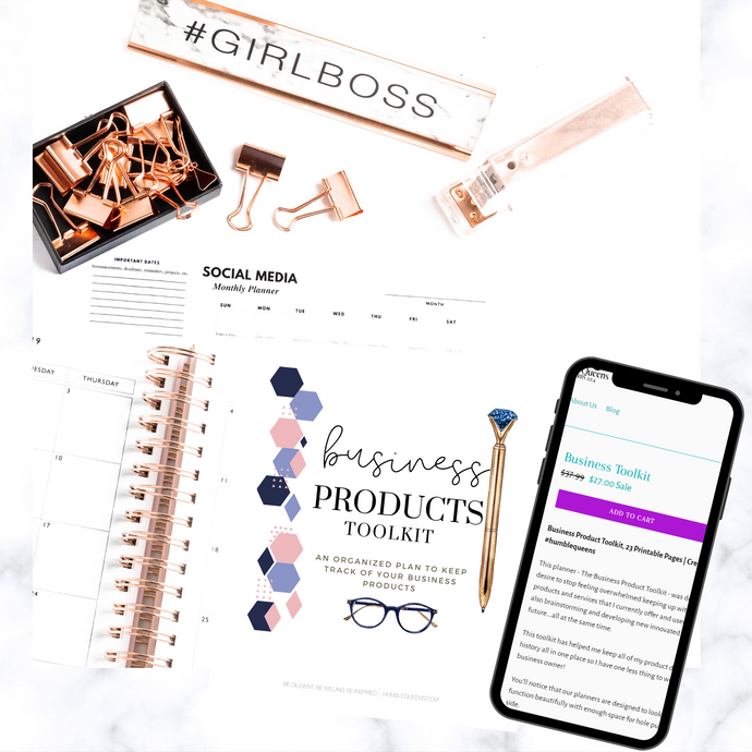 Business Product Toolkit