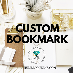 Custom Wholesale Bookmark (I am Worthy Project)