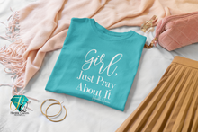 Load image into Gallery viewer, Humble Queens, Jewels,Girl Pray 1 Thessalonians 5:16-18, Christian Apparel, Christian Clothing, Christian Shirts For Women, Proverbs 31, Faith Apparel, Christian Shirt, Christian Tee, Jesus Shirt, Scripture Shirt,