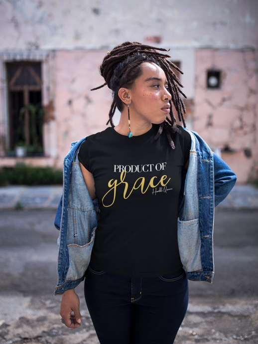 GRACE, PRODUCT OF GRACE, faithprenuer, Christian Apparel, Christian Clothing, Christian Shirts For Women, Proverbs 31, Faith Apparel, Christian Shirt, Christian Tee, Jesus Shirt, Scripture Shirt, Humble Queens, Jewels, My Faith His Plan, Diligent Hands LLC, Be Diligent, Be Willing, Be Inspired