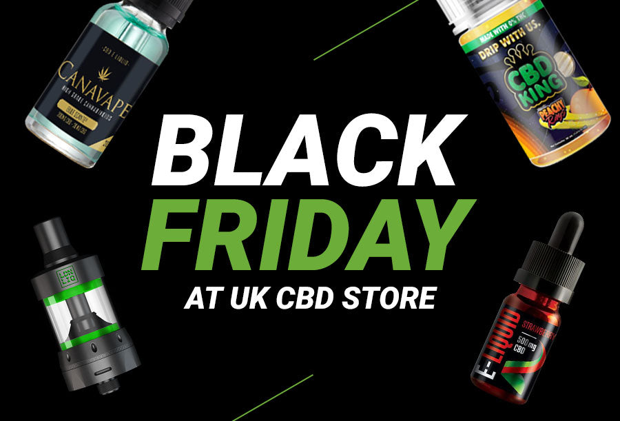 Black Friday at UK CBD STORE