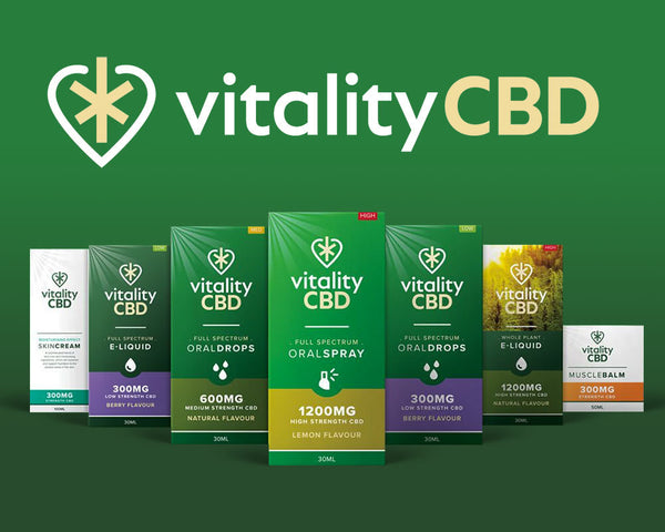 Vitality CBD - Get some Vitality into your life!