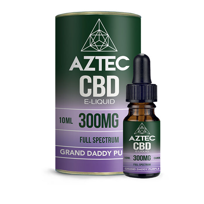 Aztec CBD - Granddaddy Purple 10ml E-Liquid - 300mg