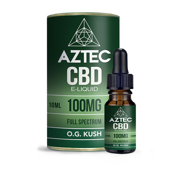Aztec CBD - OG Kush 10ml E-Liquid - 100mg
