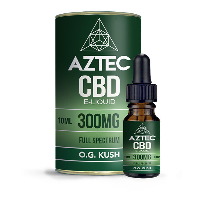 Aztec CBD - OG Kush 10ml E-Liquid - 300mg