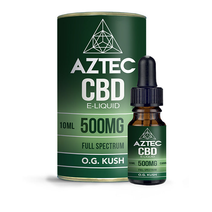 Aztec CBD - OG Kush 10ml E-Liquid - 500mg