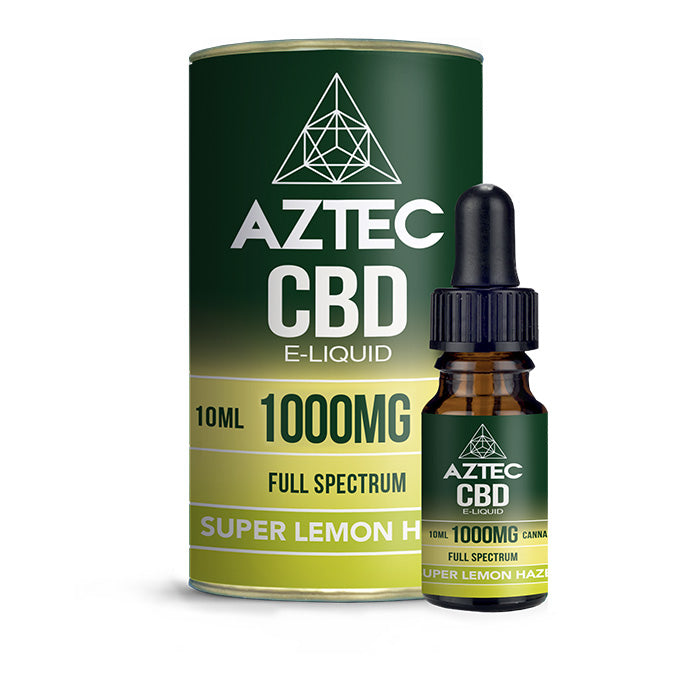 Aztec CBD - Super Lemon Haze 10ml E-Liquid - 1000mg