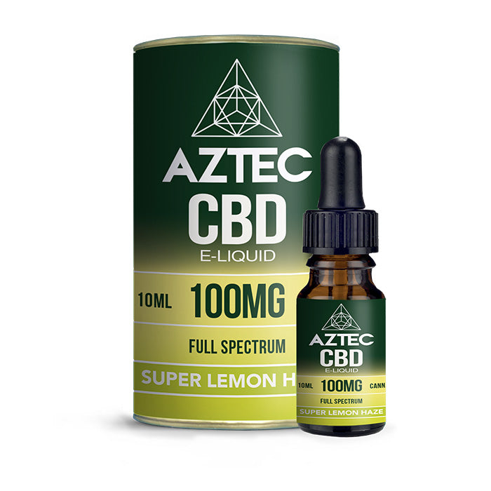 Aztec CBD - Super Lemon Haze 10ml E-Liquid - 100mg