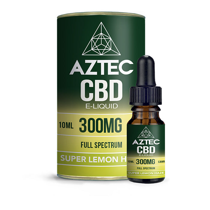 Aztec CBD - Super Lemon Haze 10ml E-Liquid - 300mg