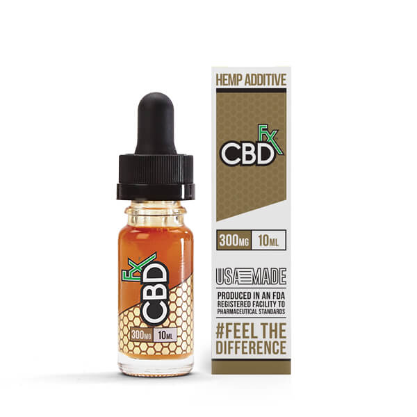 CBDfx Vape E-Liquid 300mg CBD Additive