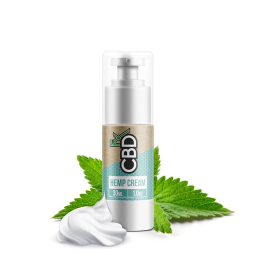 CBDfx - CBD Hemp Cream - 100mg 30ml Bottle