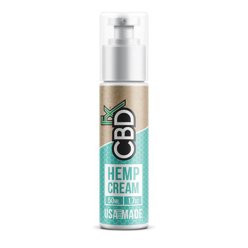 CBDfx - CBD Hemp Cream - 150mg 50ml Bottle
