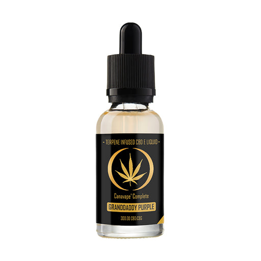 Canavape Complete CBD - 20ml Granddaddy Purple E-Liquid - 300mg