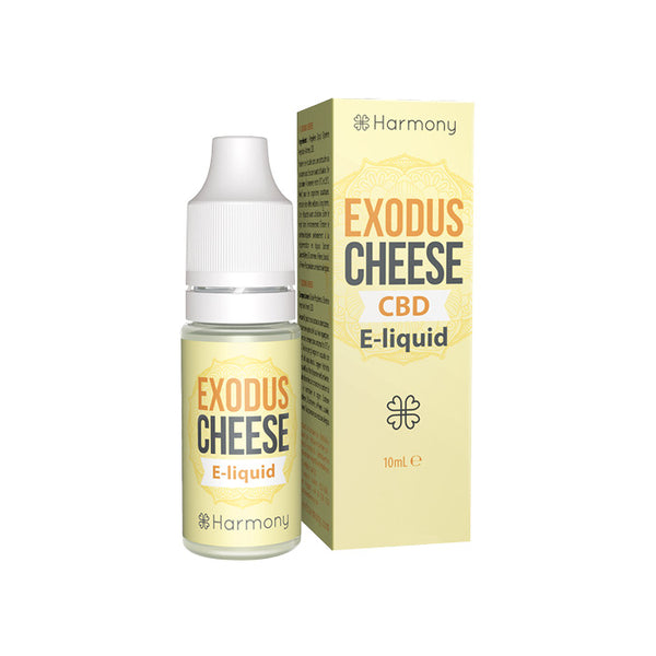 Harmony - Exodus Cheese 10ml CBD E-Liquid