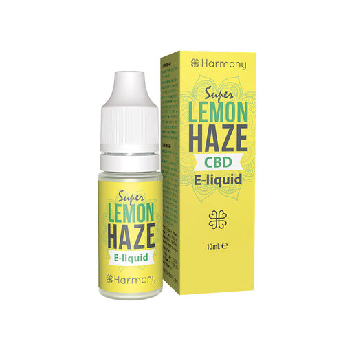 Harmony - Lemon Haze 10ml CBD E-Liquid
