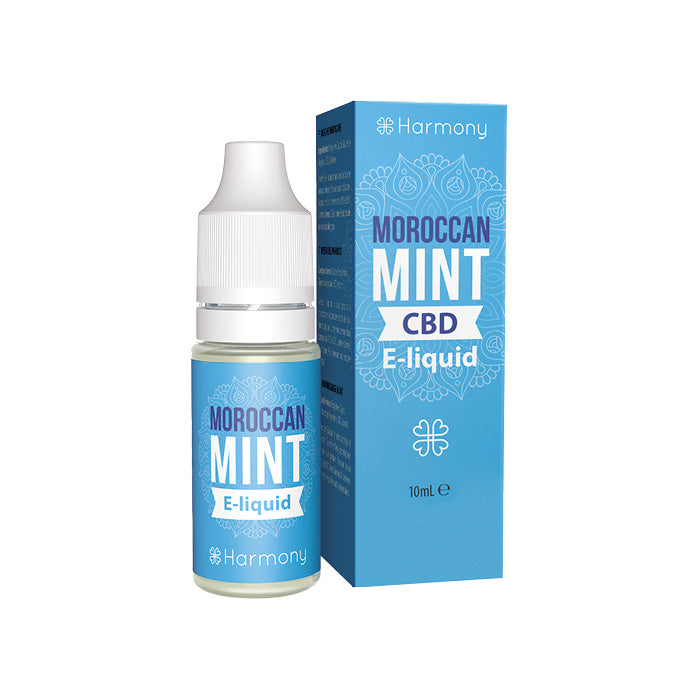 Harmony - Moroccan Mint 10ml CBD E-Liquid