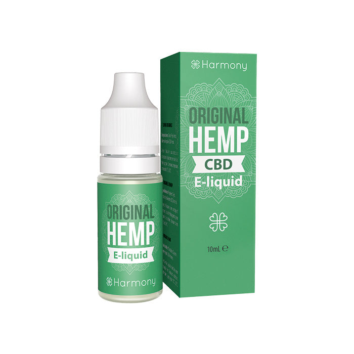 Harmony - Original Hemp 10ml CBD E-Liquid