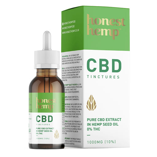 Honest Hemp - CBD Oil Tincture 10ml - 1000mg