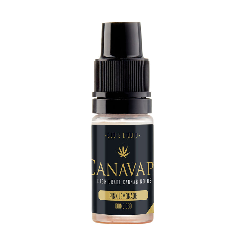 Canavape CBD - Pink Lemonade E-Liquid - 10ml - 100mg