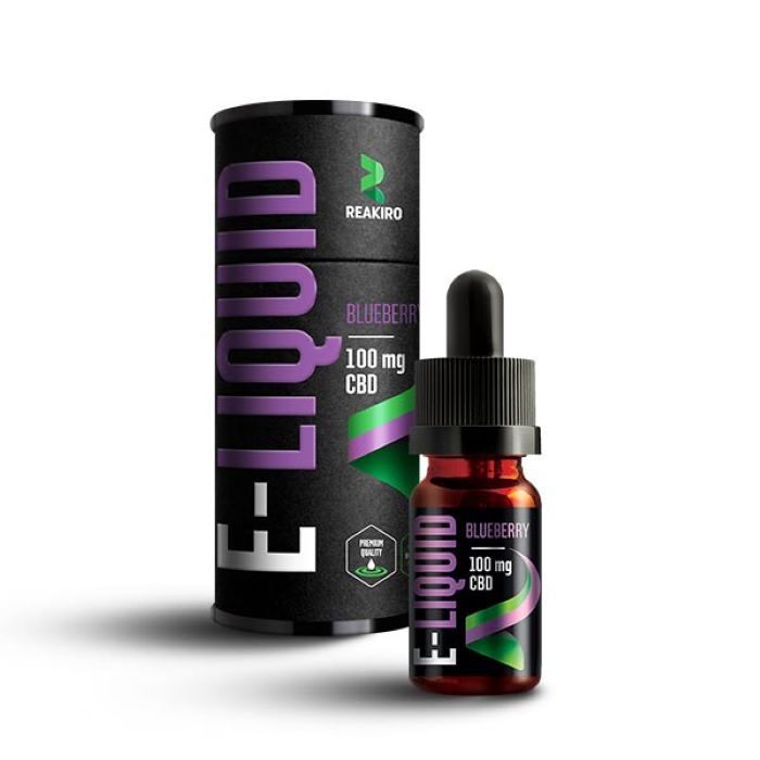 Reakiro 10ml CBD E-liquid Blueberry - 100mg