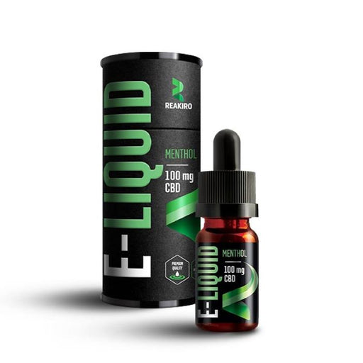 Reakiro 10ml CBD E-liquid Menthol - 100mg