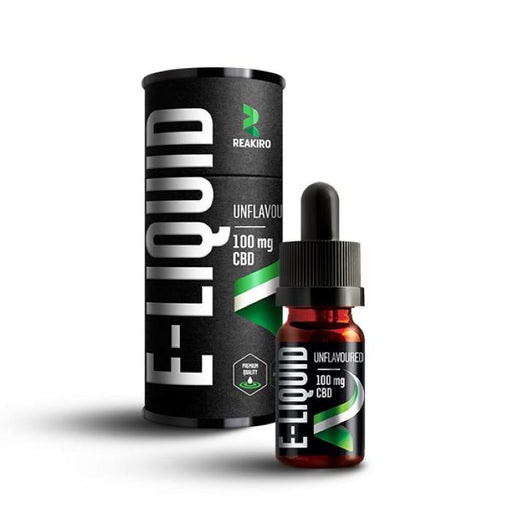 Reakiro 10ml CBD E-liquid Unflavoured - 100mg
