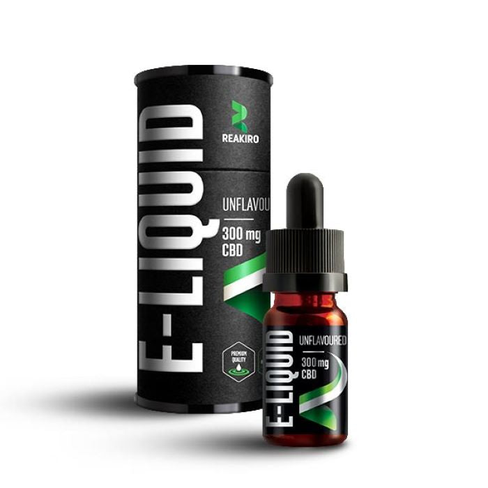Reakiro 10ml CBD E-liquid Unflavoured - 300mg