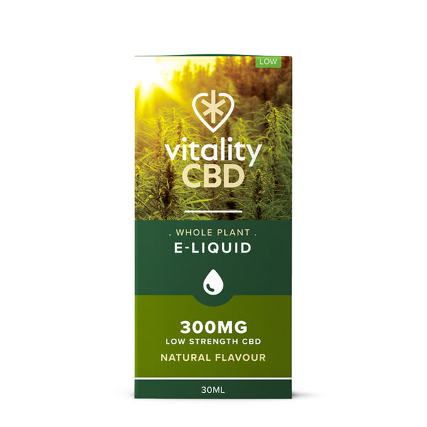 Vitality CBD - Whole Plant 30ml E-Liquid - 300mg