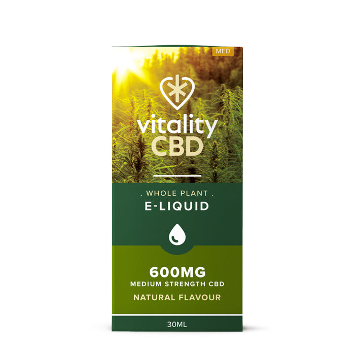 Vitality CBD - Whole Plant 30ml E-Liquid 600mg