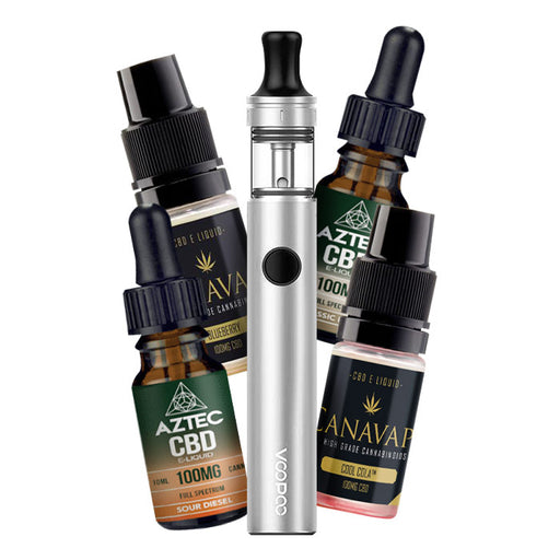 VooPoo Finic 16 CBD Starter Kit with FREE CBD Vape Juice