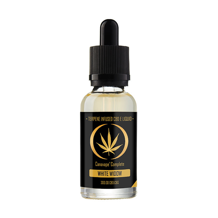 Canavape Complete CBD - 20ml White Widow E-Liquid - 300mg