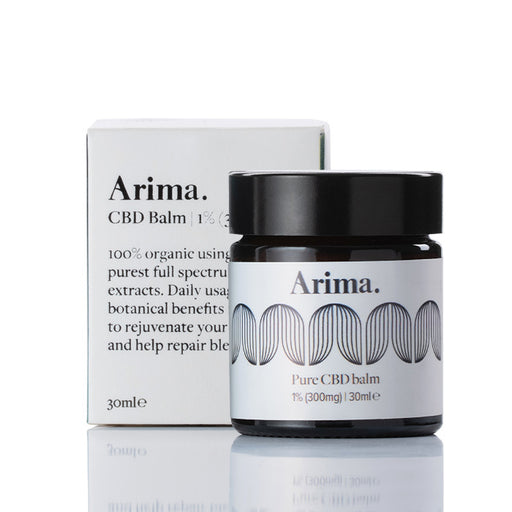 Arima CBD - Pure 300mg CBD 30ml Balm with packaging