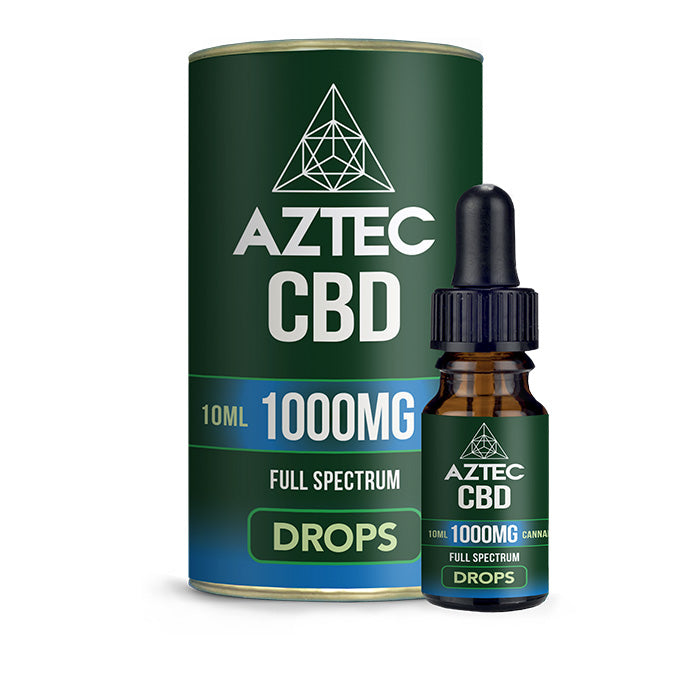 Aztec - Full Spectrum CBD Oil Drops - 1000mg