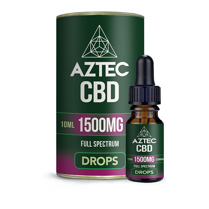 Aztec - Full Spectrum CBD Oil Drops - 1500mg