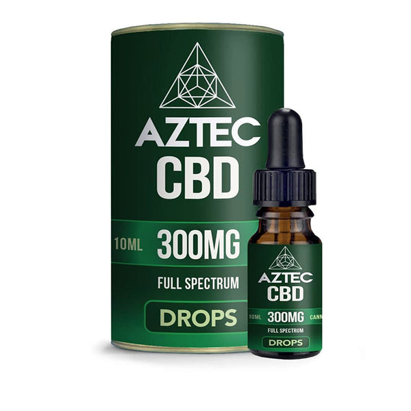 Aztec - Full Spectrum CBD Oil Drops - 300mg